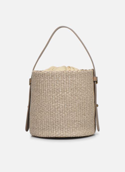 Sacs à main Arron Small Bucket Bag Beige vue face