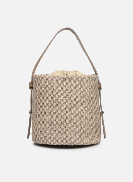 Sacs à main Arron Small Bucket Bag Beige vue détail/paire