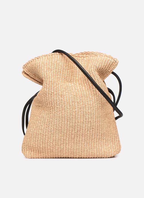 Handtaschen Arron Small Rafia Handbag beige ansicht von vorne