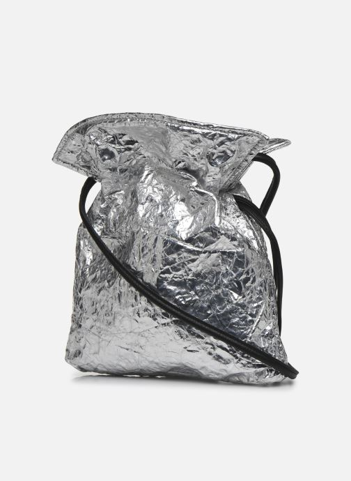 Bolsos de mano Arron Small Handbag Plateado vista lateral derecha