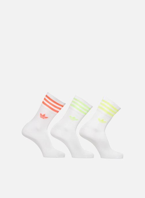 Chaussettes et collants adidas originals Solid Crew Sock Lot De 3 Blanc vue détail/paire