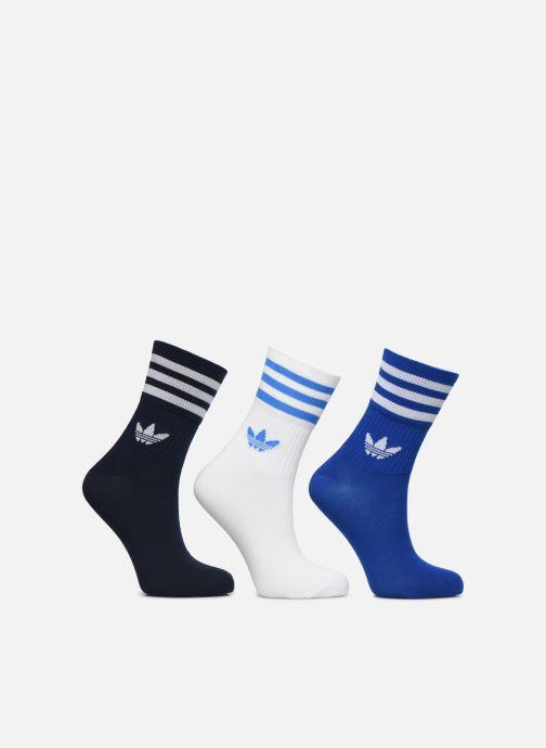 Chaussettes et collants adidas originals Mid Cut Crew Sock Lot De 3 Bleu vue détail/paire