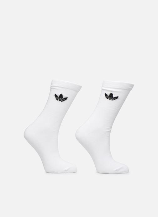 Chaussettes et collants adidas originals Thin Tref Crew Lot De 2 Blanc vue détail/paire