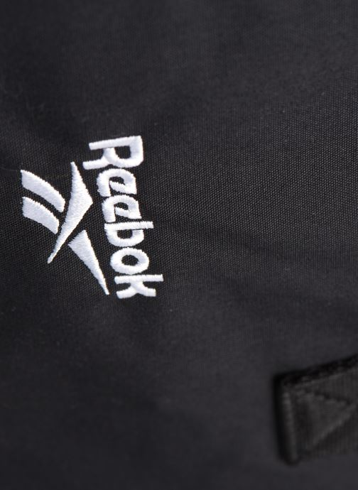 Borsa da palestra Reebok Cl Fo Duffle 2 Nero immagine sinistra