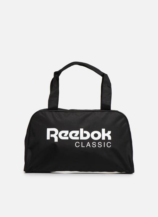 Bolsas de deporte Reebok Cl Core Duffle Negro vista de detalle / par