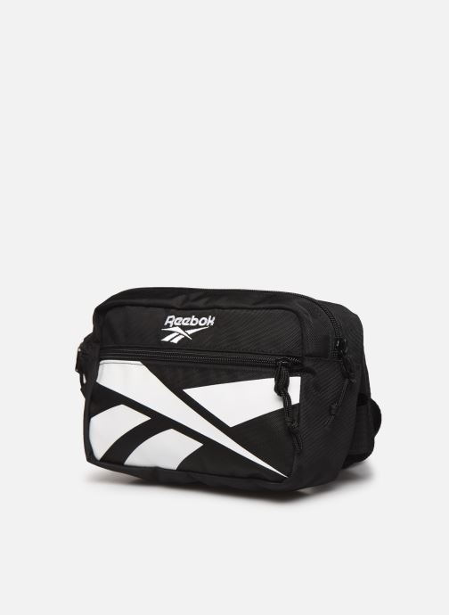 Herrentaschen Reebok Cl Repeat Vector Waistbag schwarz schuhe getragen