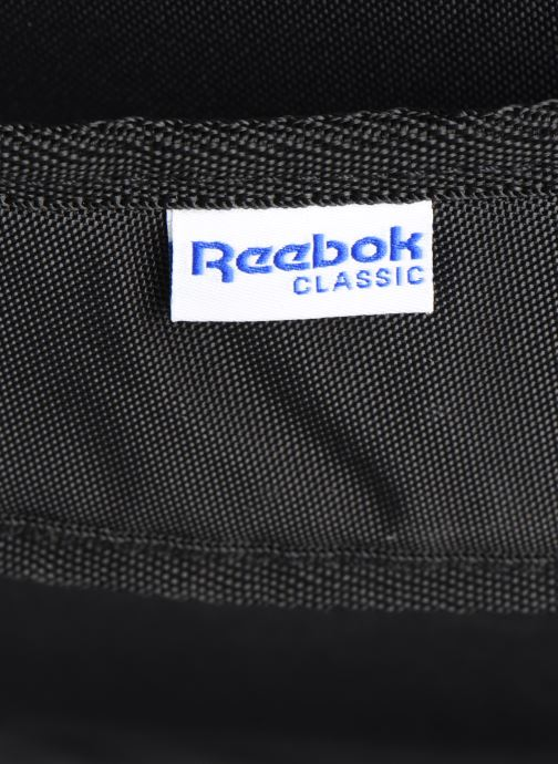 Rucksacks Reebok Cl Archive Bp Black view from the left