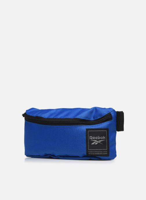 Marroquinería pequeña Reebok Wor Waistbag Azul vista del modelo
