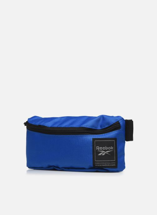 Sacs à main Reebok Wor Waistbag Bleu vue portées chaussures