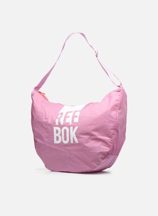 Borse Reebok W Found Tote Rosa modello indossato