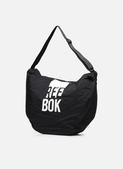 Bolsos de mano Reebok W Found Tote Negro vista del modelo