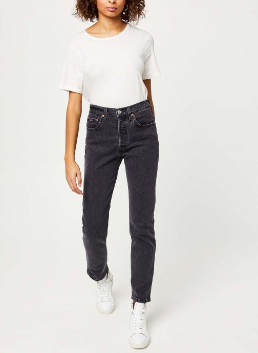 Vêtements Levi's 501® Crop Jeans Noir vue bas / vue portée sac