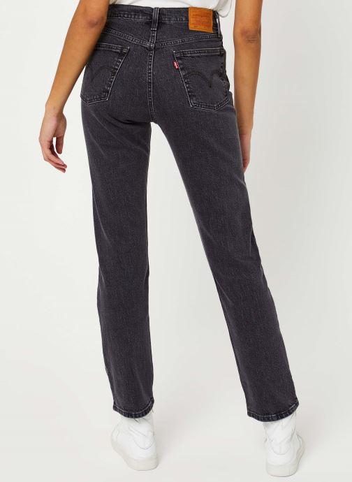 Vêtements Levi's 501® Crop Jeans Noir vue portées chaussures