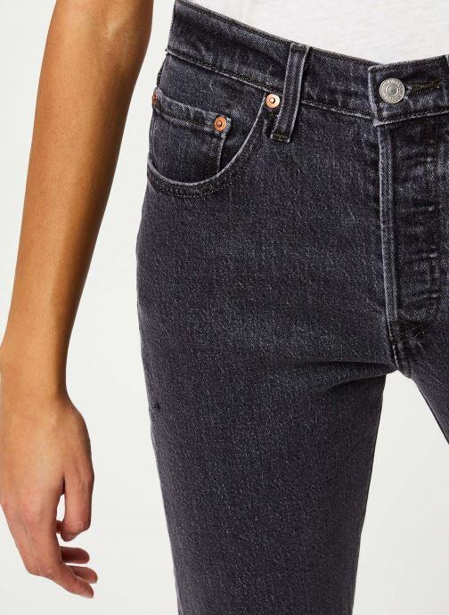 Vêtements Levi's 501® Crop Jeans Noir vue face