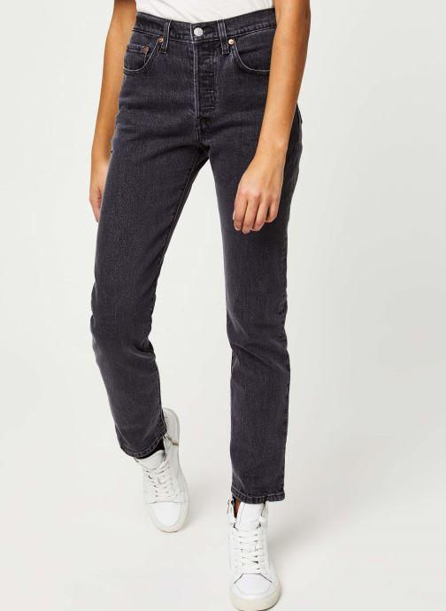 Vêtements Levi's 501® Crop Jeans Noir vue détail/paire