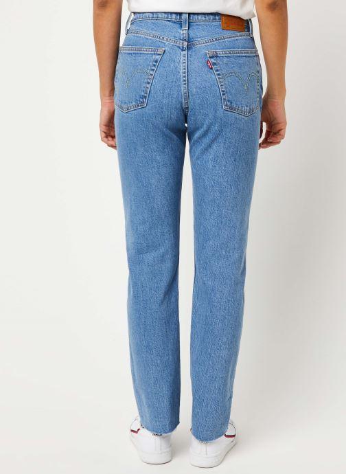 Kleding Levi's 501® Crop Jeans Blauw model