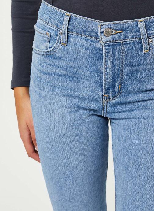 Vêtements Levi's 724™ High Rise Straight Jeans Bleu vue face