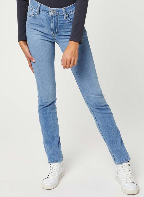 Vêtements Levi's 724™ High Rise Straight Jeans Bleu vue détail/paire