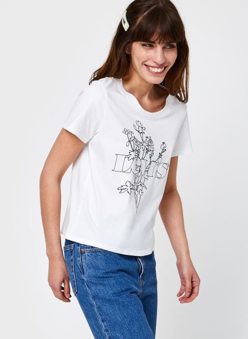 Kleding Levi's Graphic Surf Tee Wit detail