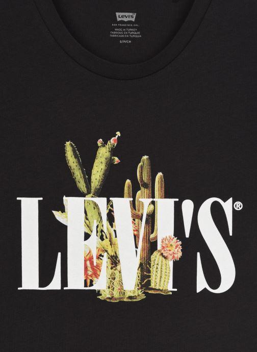 Vêtements Levi's The Perfect Tee Noir vue face