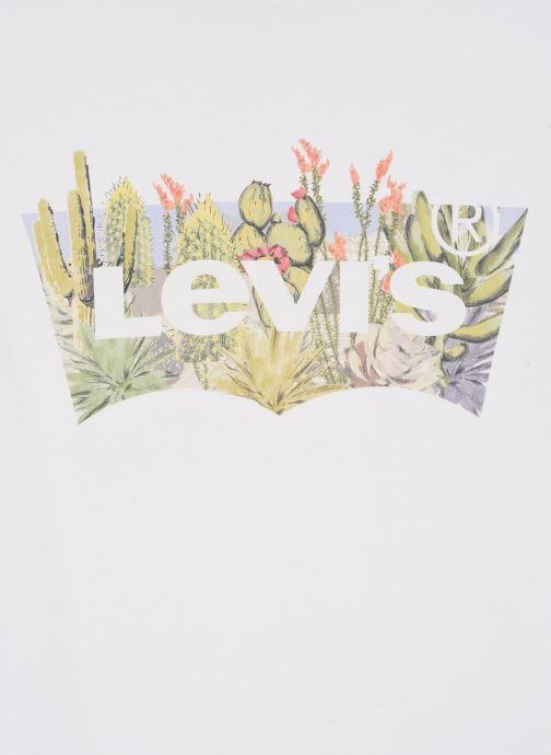 Vêtements Levi's The Perfect Tee Blanc vue face