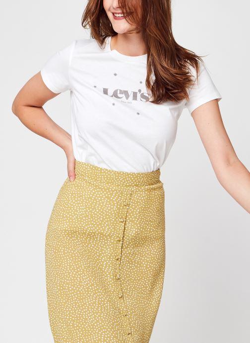 Vêtements Levi's The Perfect Tee Blanc vue détail/paire