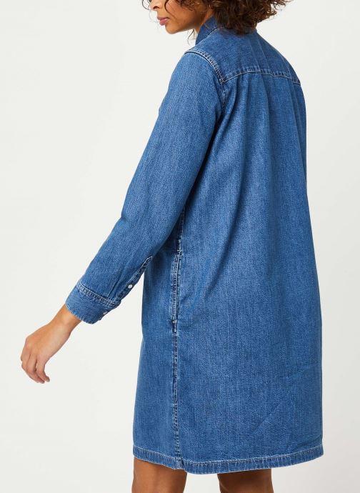 Vêtements Levi's Selma Dress Bleu vue portées chaussures