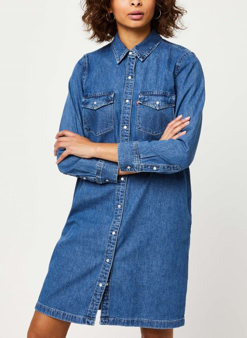 Vêtements Levi's Selma Dress Bleu vue droite