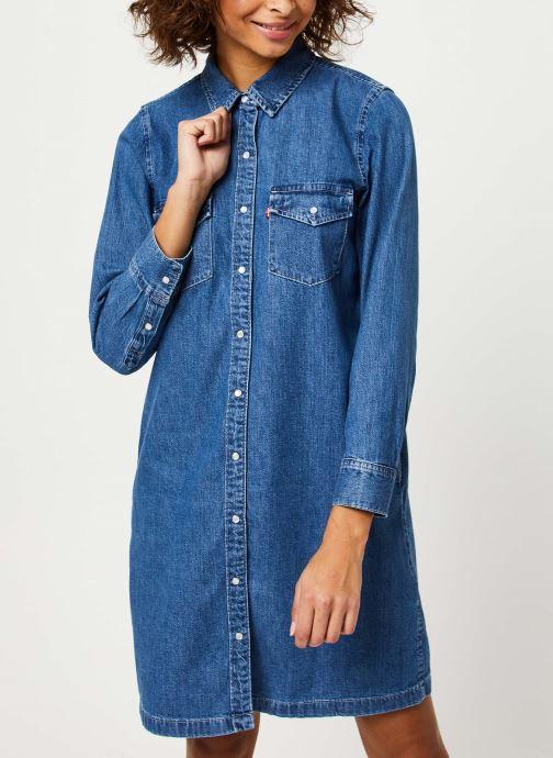 Vêtements Levi's Selma Dress Bleu vue détail/paire