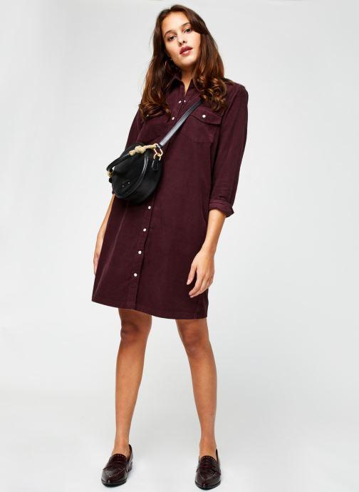 Vêtements Levi's Selma Dress Violet vue bas / vue portée sac
