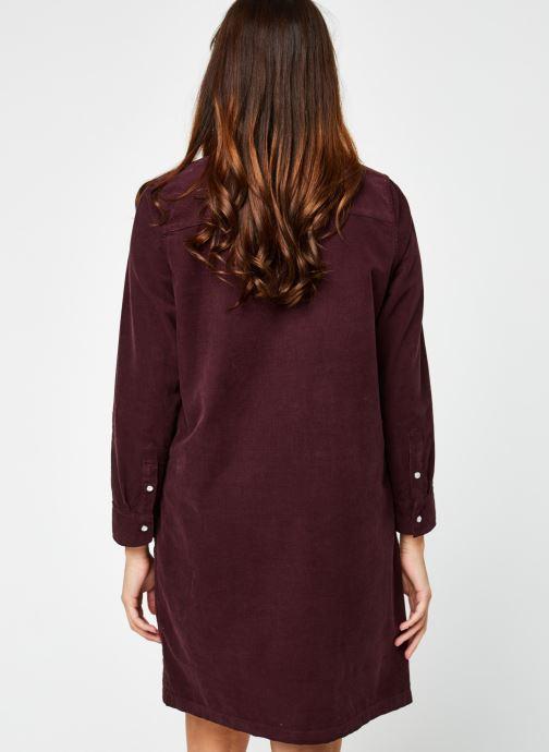 Vêtements Levi's Selma Dress Violet vue portées chaussures
