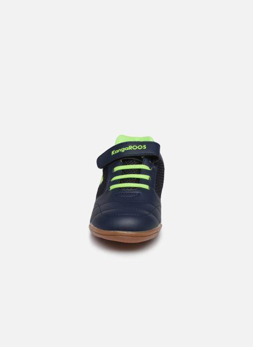 Baskets Kangaroos Raceyard EV Bleu vue portées chaussures