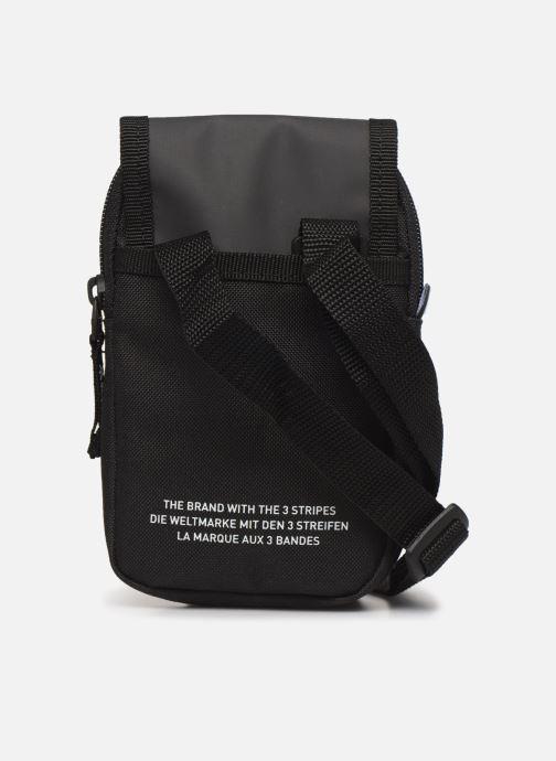 Herrentaschen adidas originals Map Bag schwarz ansicht von vorne