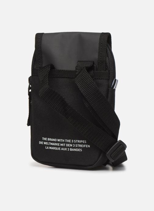 Herrentaschen adidas originals Map Bag schwarz ansicht von rechts