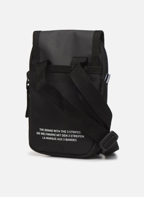 Bolsos de hombre adidas originals Map Bag Negro vista lateral derecha