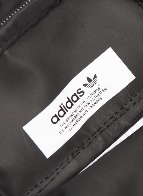 Herrentaschen adidas originals Map Bag schwarz ansicht von hinten