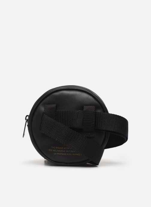 Marroquinería pequeña adidas originals Waistbag Round Negro vista de frente