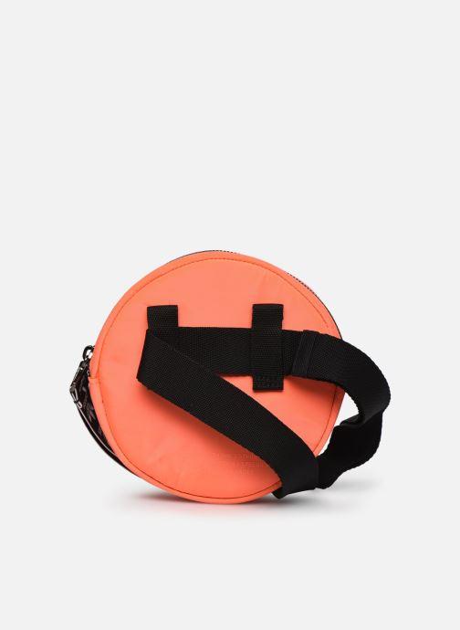Marroquinería pequeña adidas originals Waistbag Round Rojo vista de frente