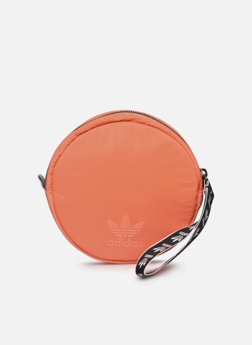 Marroquinería pequeña adidas originals Waistbag Round Rojo vista de detalle / par