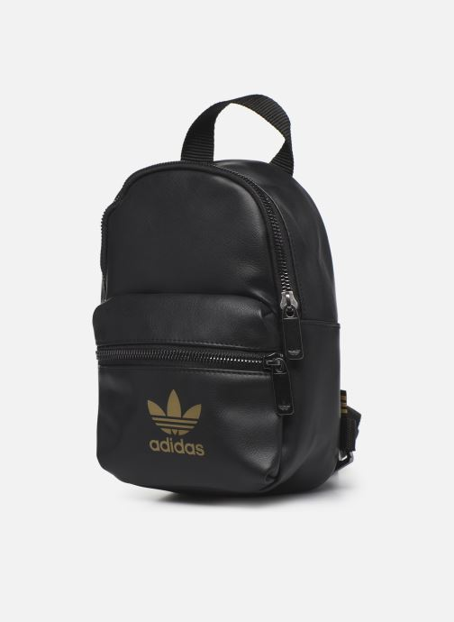 Zaini adidas originals Bp Mini Pu 2 Nero modello indossato