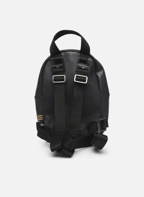 Rucksacks adidas originals Bp Mini Pu 2 Black front view