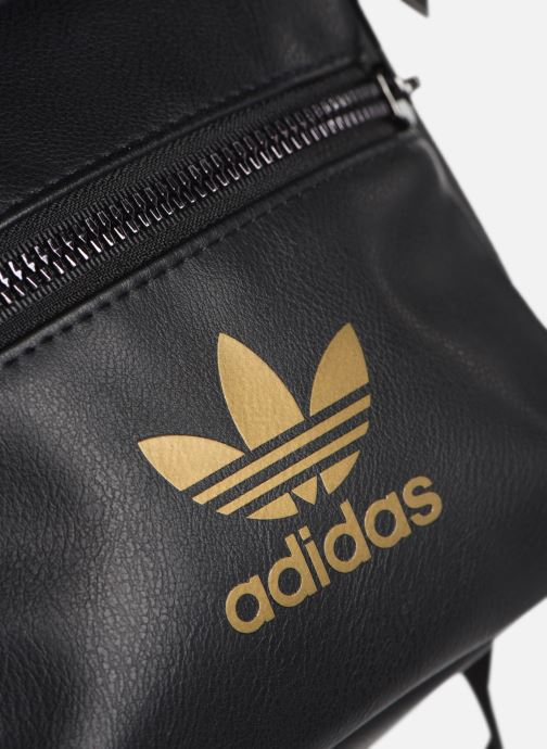 Zaini adidas originals Bp Mini Pu 2 Nero immagine sinistra