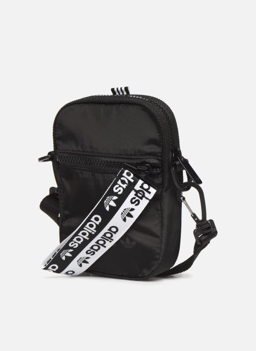 Bolsos de hombre adidas originals Ryv Festival Negro vista del modelo