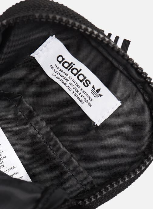 Herrentaschen adidas originals Ryv Festival schwarz ansicht von hinten