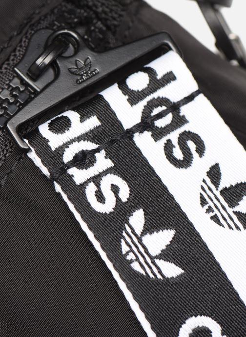 Herrentaschen adidas originals Ryv Festival schwarz ansicht von links