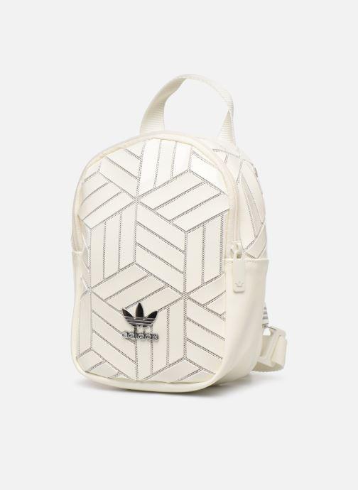 Zaini adidas originals Bp Mini 3D Bianco modello indossato