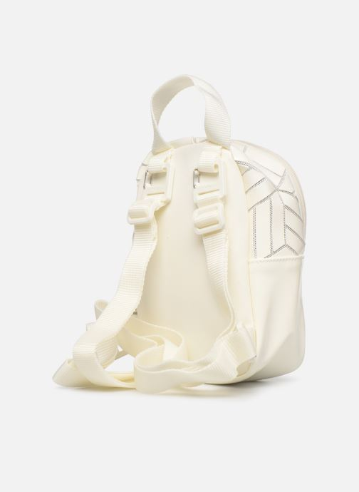 Mochilas adidas originals Bp Mini 3D Blanco vista lateral derecha