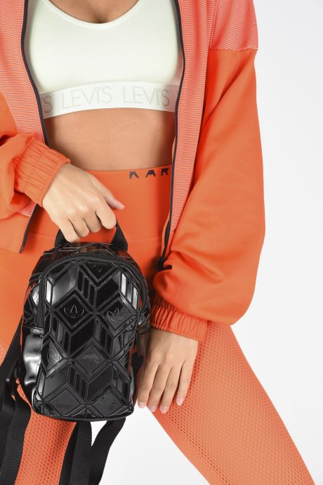 Zaini adidas originals Bp Mini 3D Nero immagine dal basso