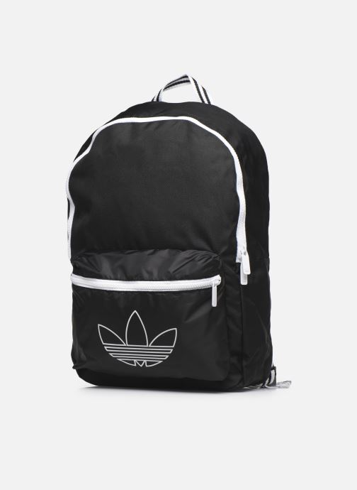 Zaini adidas originals Sprt Backpack Nero modello indossato
