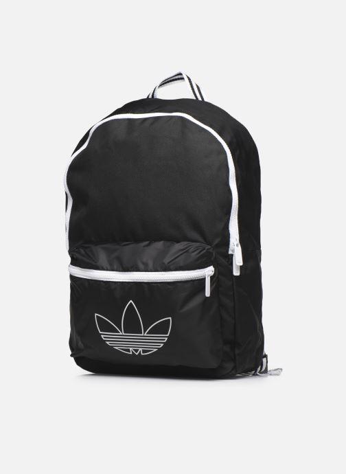 Sacs à dos adidas originals Sprt Backpack Noir vue portées chaussures